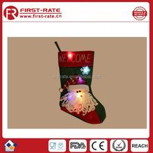 LED flashing Popular santa best stockings