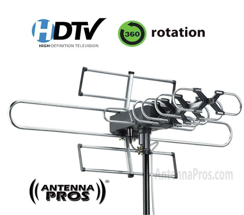 Antenna Pros Spectrum7 Outdoor Hdtv Antenna With Motor Rotor Dtv Sp7 Buy Ou