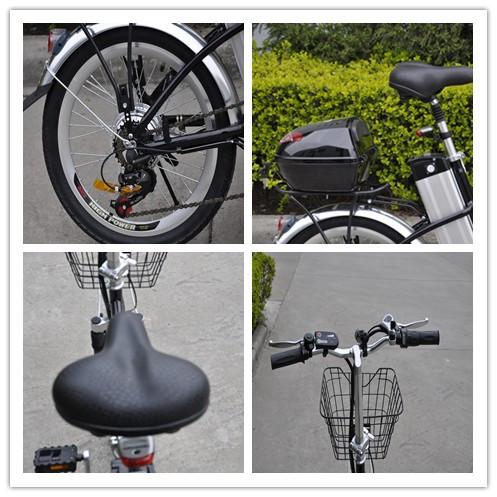 Chinês barato crianças mini bicicleta elétrica de dobramento