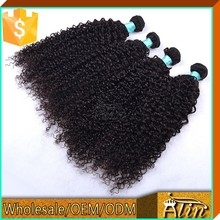 Most popular style double weft can be dye and iron african human hair extensions