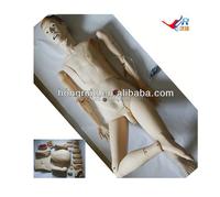 ISO Advanced full function nursing training manikin(male) & Hot sale best medical model