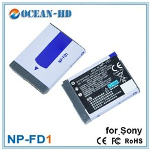 For Sony NP-FD1 3.6v rechargeable digital video camera battery