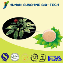 drum and plastic container packaging Brownish yellow powder Ginseng Extract