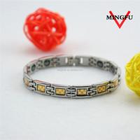 Anti-allergy 316L SS healthy custom magnetic bracelet