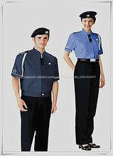 2014 de alta calidad de diseño de seguridad uniforme de guardia