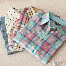 de verificación camisas para mujer con bordado