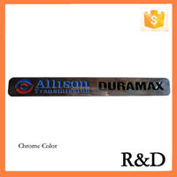 ABS Plastic Duramax Diesel Allison Silverado Sierra 2500 3500 Truck Badges Emblems Emblema Embleme Decal Logo Sticker 06-12