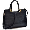 Women Black Handbag Crocodile Shoulder Bag Briefcase Business Bag HOT ITEM