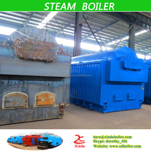 Single drum horizontal fire tube and water tube 2 ton Wood fired Steam Boiler for textile industry