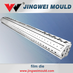 rigid recycled pvc film extrusion die for blister pack