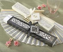 Popular Personalized Silk Fan Wedding Gift
