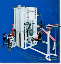 Integrated Gym Trainer Type musculation multi station home gym equipment with 6 groups weight stacks AMA9920B