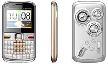 Q5 dual loudspeaker 3 sim TV qwerty phone with