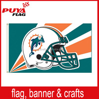 wholesale high quality 3x5ft printing sports club flag, custom polyester outdoor flying events flag for cheering
