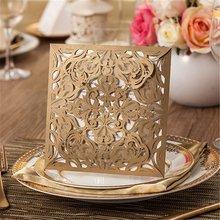 new style luxury branded elegant hot sale wedding cards