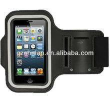 2014 Black Running Jogging Gym Armband For iPhone 5 sports armband phone case