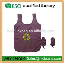 2015 hot sale RPETeasy bag foldable shopping tote bag