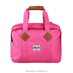 2016 New High Quality Pink Laptop Bag for Women Office Bag