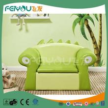 Cartoon crocodile pattern popular among kids storage sofa green sofa