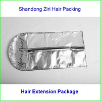 Best sell custom style paper hair extension packaging