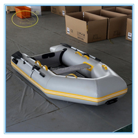 Hot sale small China inflatable boat for sale with aluminum floor