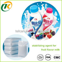 best price food grade carrageenan based stabilizing agent for fruit flavor milk factory from Chinese gold supplier