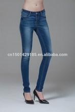 el desfile de moda los pantalones vaqueros delgada taobao hot pants lavar los pies de pantalones de lápiz