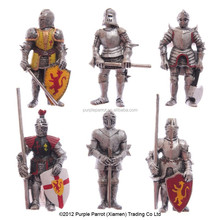 6 Assorted Medieval Knight Fridge Magnet