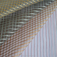 neoclassic sheer flock fabric for curtain