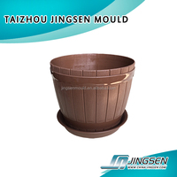 Plastic outdoor flower pot mold/mould