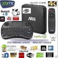 Android M8 tv box Amlogic S802 Quad Core 4.4 Smart Android TV Box
