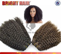 Hot selling new wave hair products types of synthetic hair kinky hair