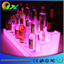 Wholesale led furniture PE RGB Led Wine Display/Led Beer Display/Win Bottle Display Case