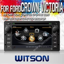 WITSON SPEICAL OEM CAR DVD FOR FORD CROWN VICTORIA 2008-2012 WITH 1.6GHZ FREQUENCY DVR SUPPORT RAM 8GB FLASH BLUETOOTH GPS WIFI