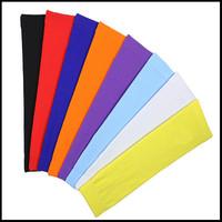 new 1 pair outdoor sport sun protective arm sleeve for basketball