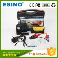 Wholesale OEM Emergency Car Jump Starter with Air Compressor for 12v Car Start