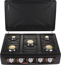 Europe electric ignition cooking range five burner cooking range