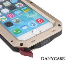 Powerful Waterproof Shockproof Aluminum Metal Cover Case For IPhone