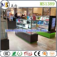 Shopping mall cellphone kiosk for mobile phone store design