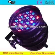 36*3w RGB Color Strobe Effect Disco Night Club Par 64 LED stage lighting