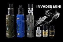 E cigarette mod heatvape defender Invader Mini 50 watt water proof shock proof box mod