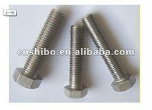 Mo 99.95% molybdenum threaded rods/ fasteners