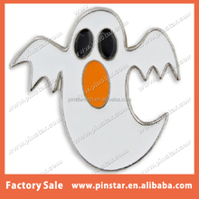 wholesale Fashion New creative flying ghost phantom metal Enamel lapel pin badge for Halloween