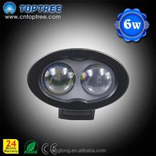 6w blue dot warning light /10-110V Blue spot forklift safety LED light