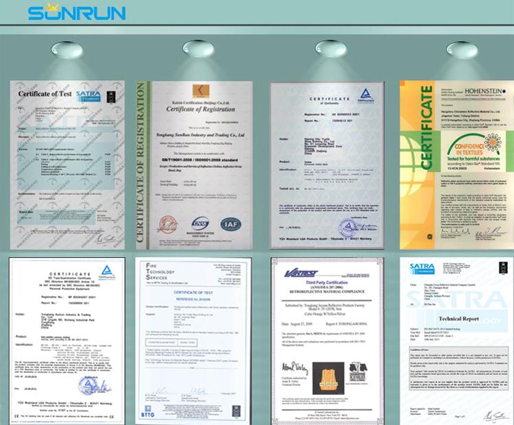 Горячие продажи дешевые светодиодные Отражательные управлением освещенные жилет безопасности