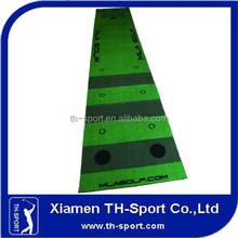 Nylon With Latex Backing Golf Turf Mat