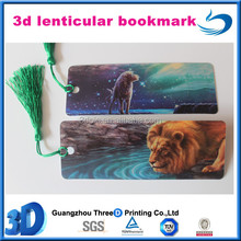 High Quality and Fancy Design Custom Plastic 3D Bookmarks For Decorations