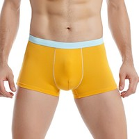 4 Colours New Simple Style Boys Pants Male Underwear Gay Man Transparent Panty Stock Transparent Men Underwear
