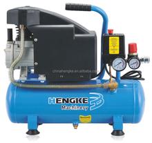 1.5hp 10L portable piston air compressor for sale