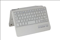 Wholesale For Apple iPad Mini PU leather Bluetooth 3.0 Wireless Keyboard Holder Case Cover